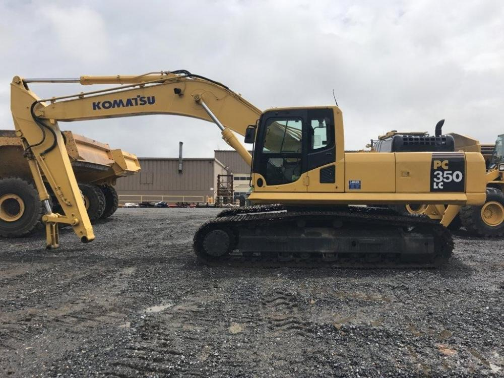 Detail photo of 2010 Komatsu PC350LC-8 from Construction Equipment Guide