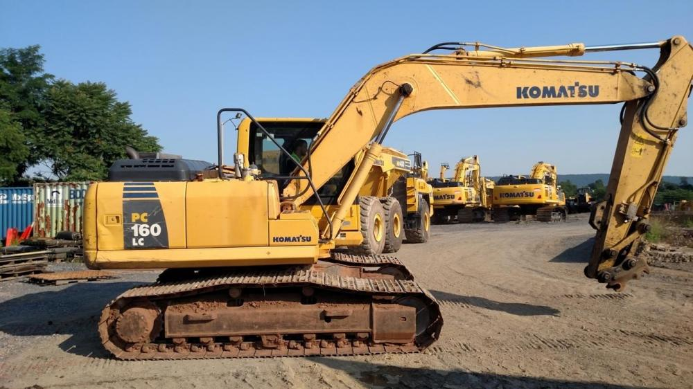 Detail photo of 2012 Komatsu PC160 LC-8 from Construction Equipment Guide