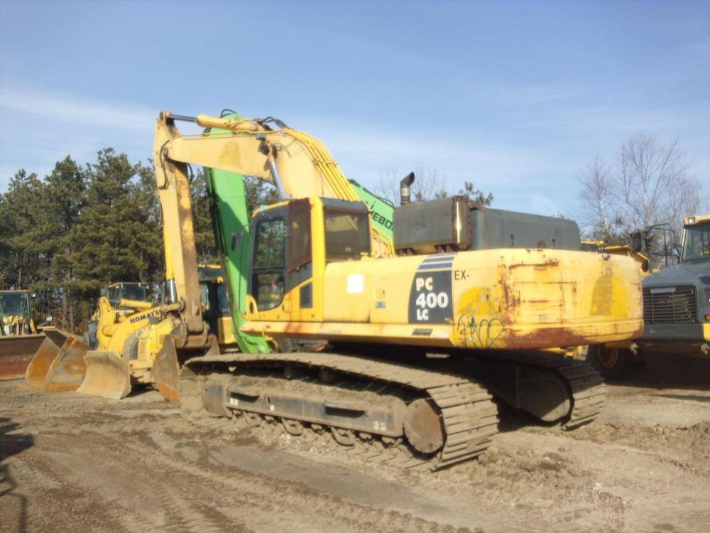 Detail photo of 2008 Komatsu PC400LC-8 from Construction Equipment Guide