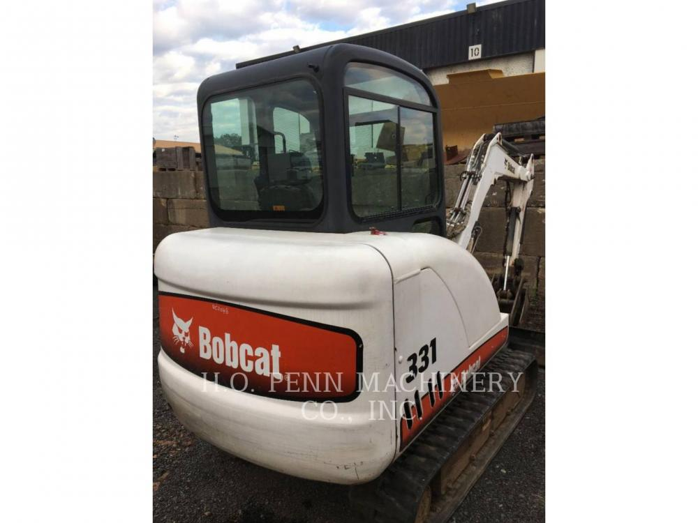 Detail photo of 2007 Bobcat 331 from Construction Equipment Guide
