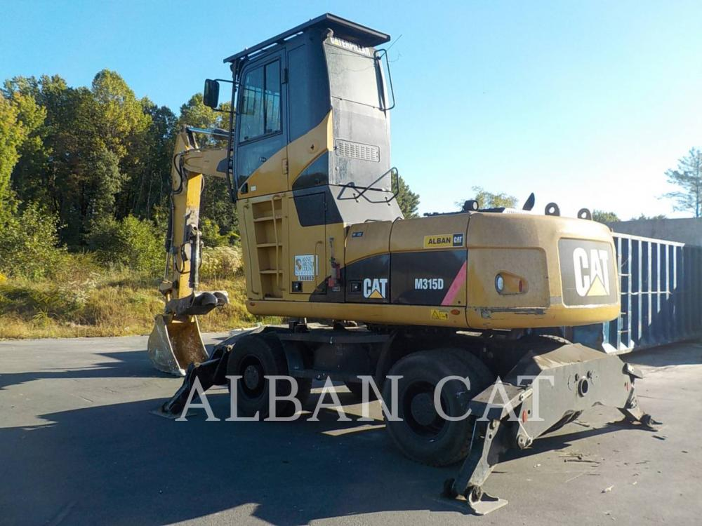 Detail photo of 2008 Caterpillar M315D from Construction Equipment Guide