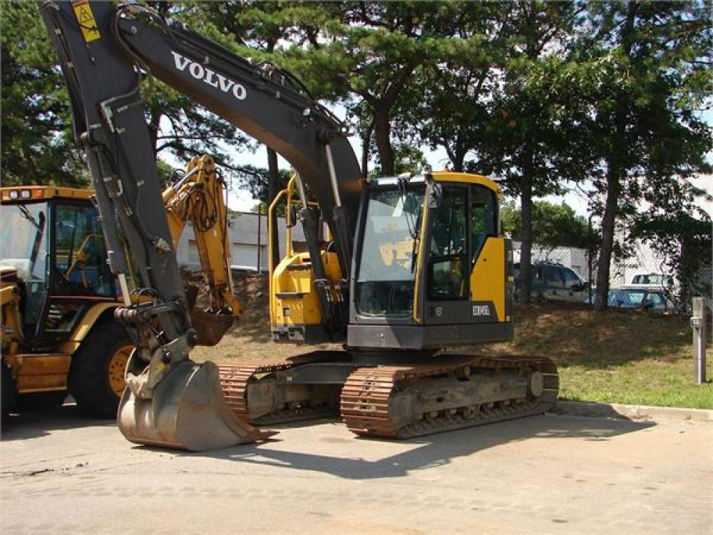 Detail photo of 2015 Volvo ECR145EL from Construction Equipment Guide