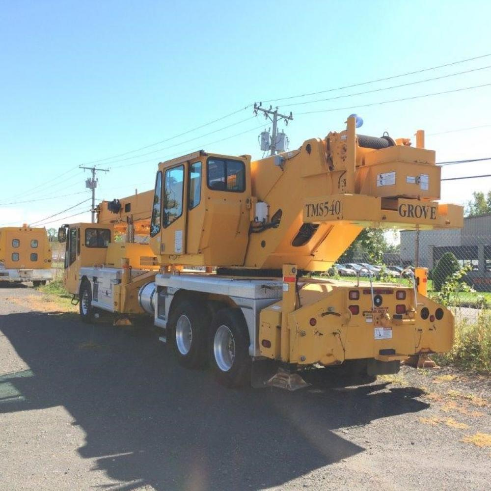 Detail photo of  Grove TMS540 from Construction Equipment Guide