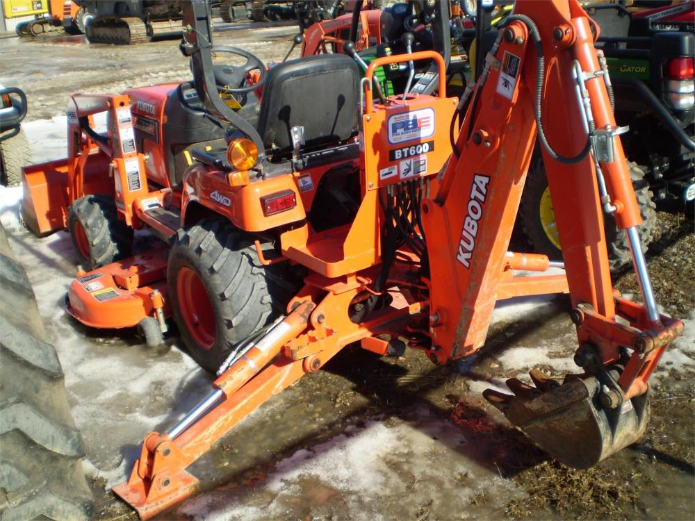 Detail photo of 2003 Kubota BX22 from Construction Equipment Guide