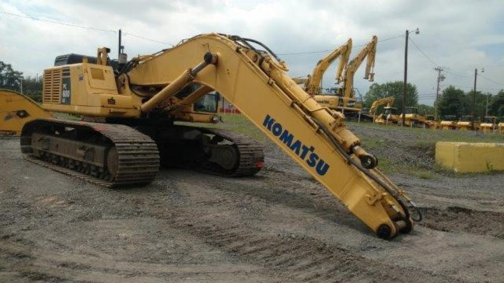 Detail photo of 2005 Komatsu PC600LC-7 from Construction Equipment Guide