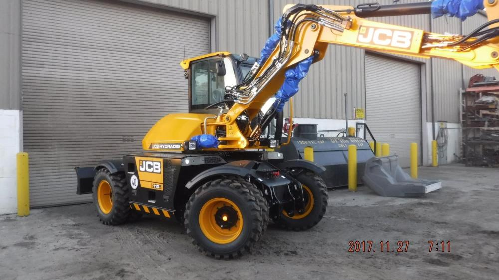 Detail photo of 2018 JCB HYDRADIG 110W from Construction Equipment Guide