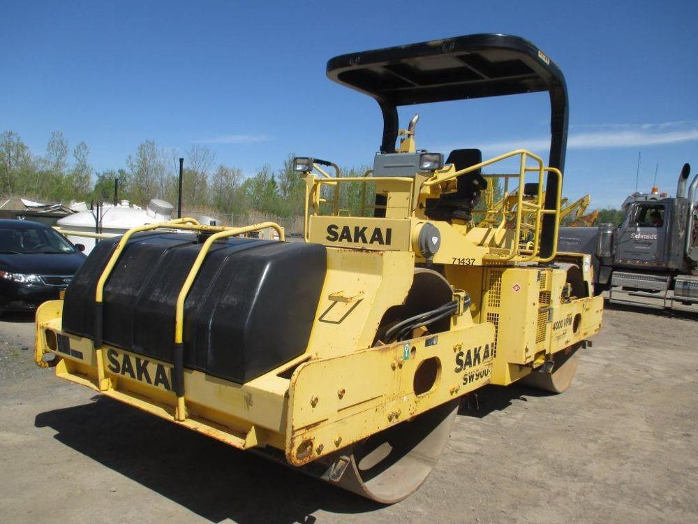 Detail photo of 2008 Sakai SW900 from Construction Equipment Guide