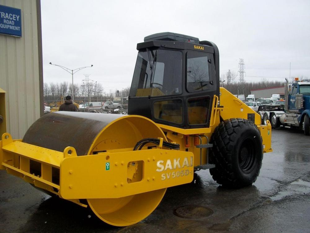 Detail photo of 2013 Sakai SV505D from Construction Equipment Guide