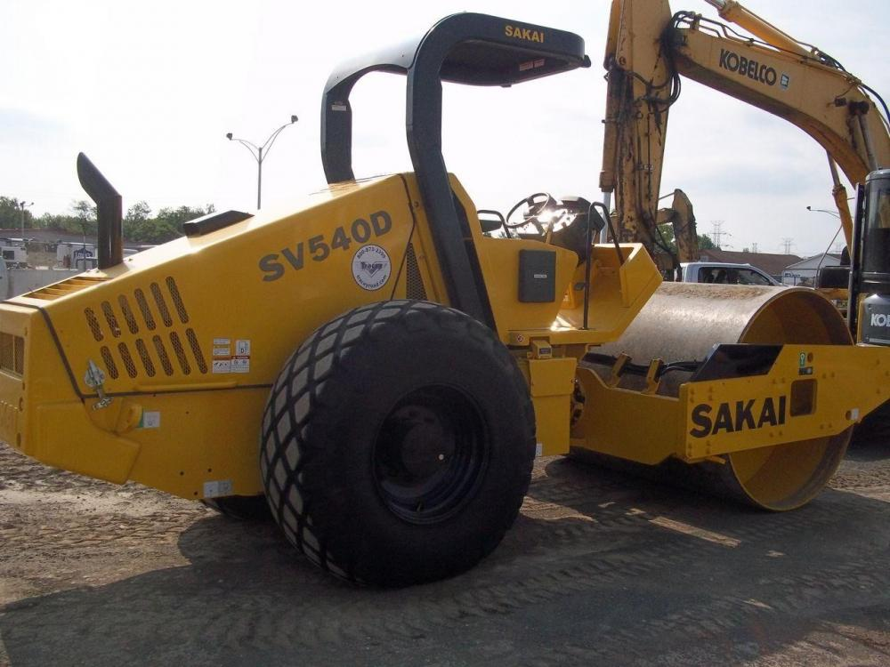 Detail photo of 2014 Sakai SV540D from Construction Equipment Guide