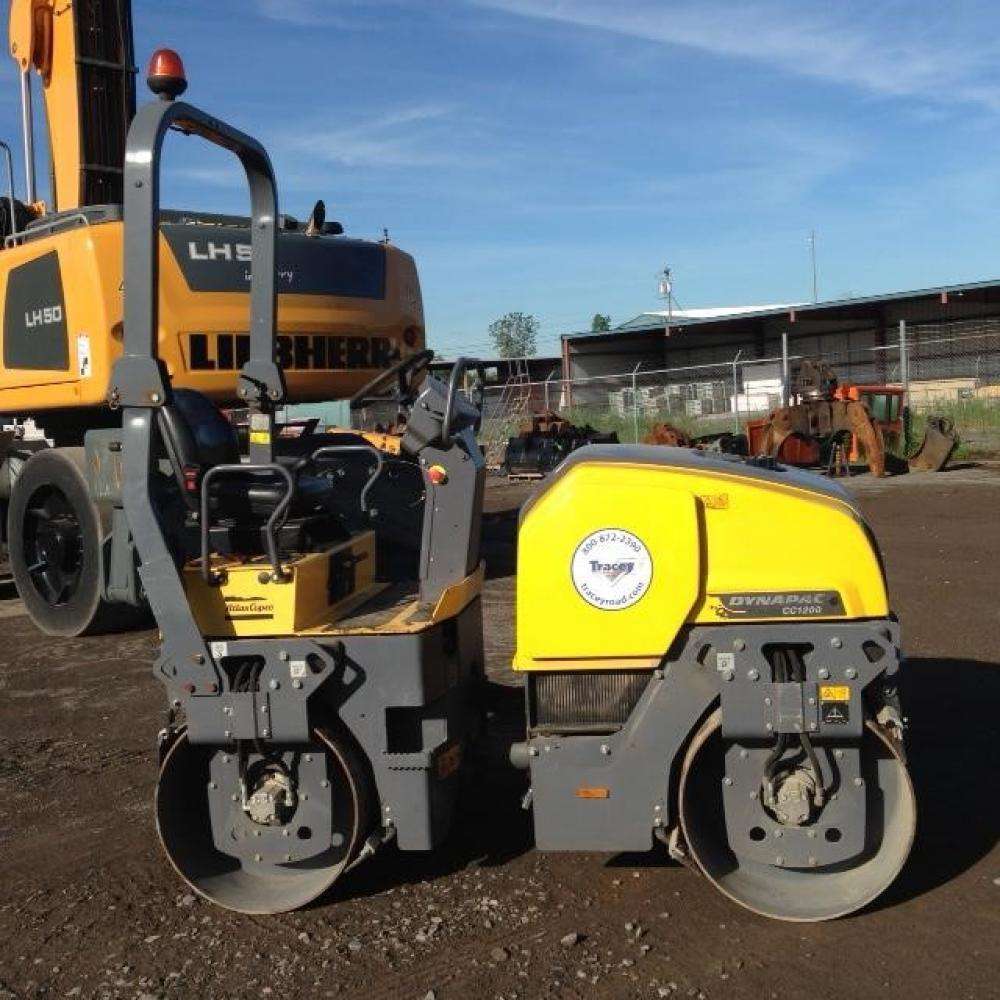 Detail photo of 2014 Dynapac CC1200 from Construction Equipment Guide