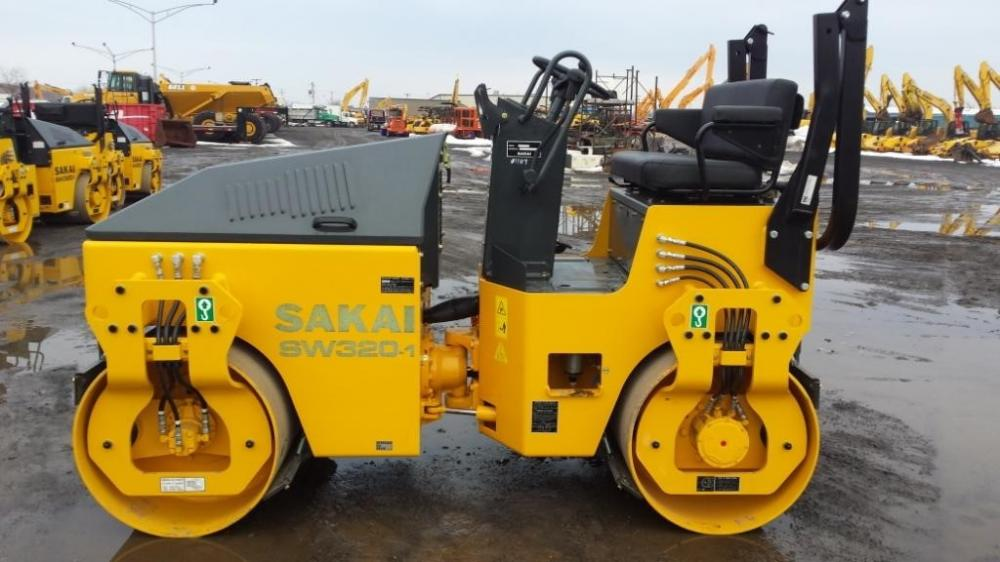 Detail photo of 2014 Sakai SW320-1 from Construction Equipment Guide