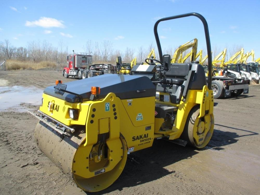 Detail photo of 2016 Sakai SW502S from Construction Equipment Guide