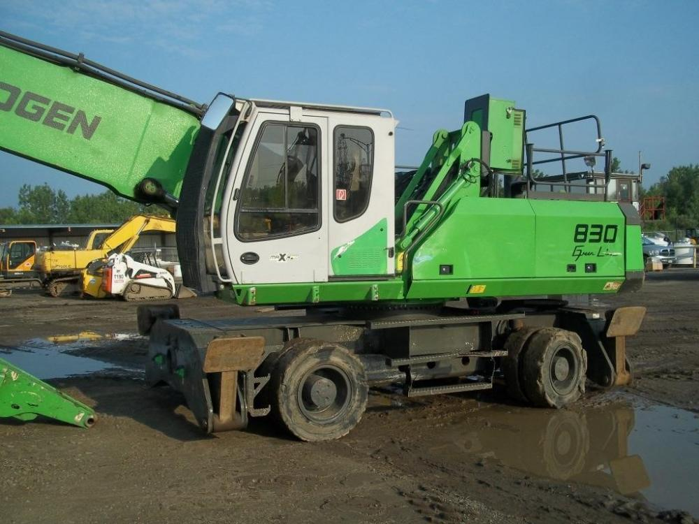Detail photo of 2010 Sennebogen 830M from Construction Equipment Guide