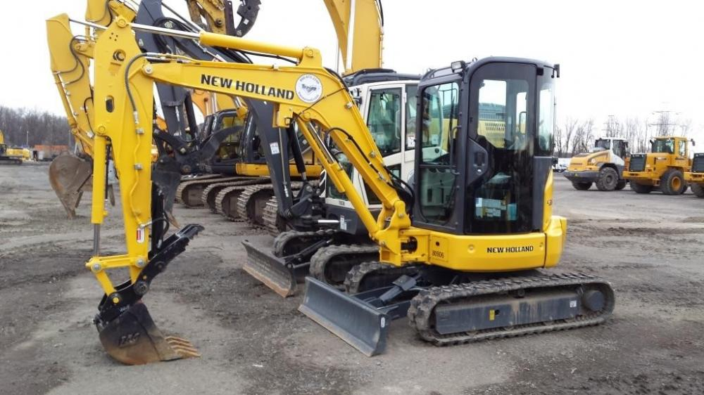 Detail photo of 2015 New Holland E35B from Construction Equipment Guide