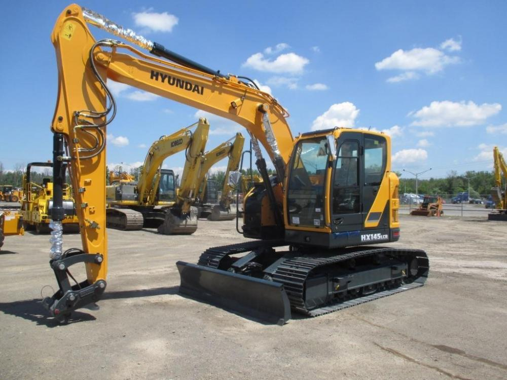 Detail photo of 2016 Hyundai HX145LCR from Construction Equipment Guide