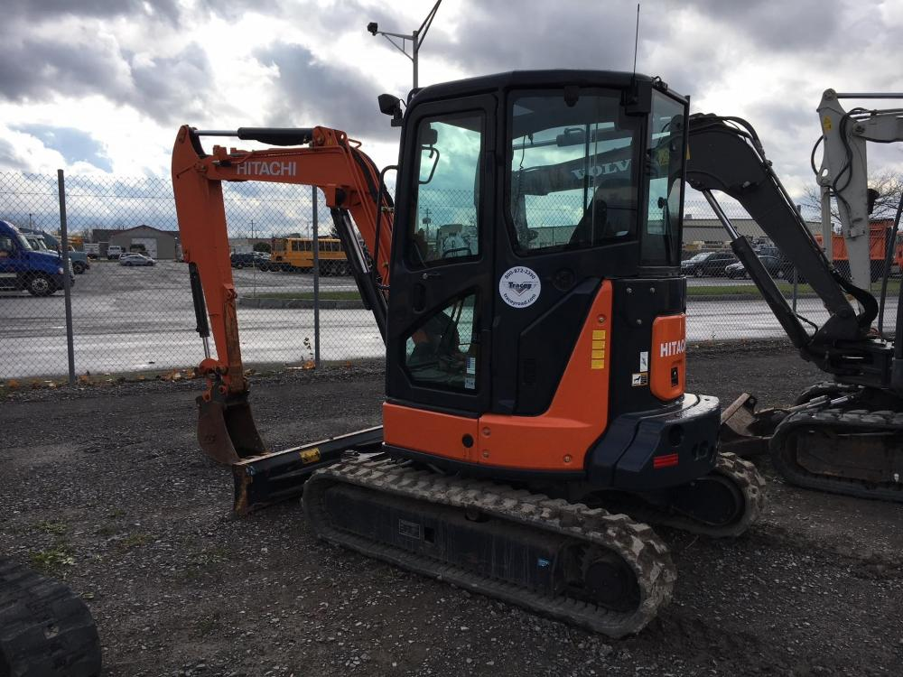 Detail photo of 2014 Hitachi ZX35U-5 from Construction Equipment Guide