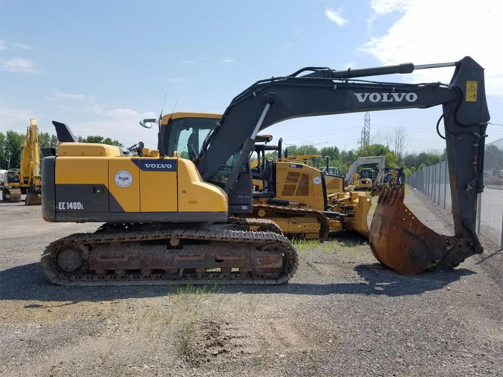 Detail photo of 2012 Volvo EC140DL from Construction Equipment Guide