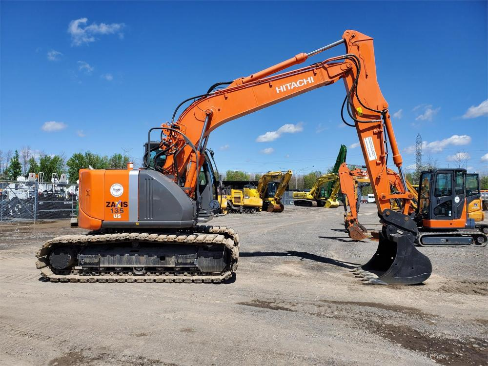 Detail photo of 2013 Hitachi ZX135US-3 from Construction Equipment Guide