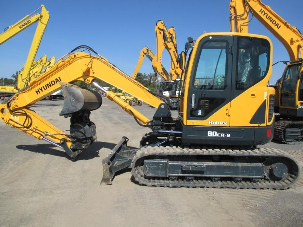 Detail photo of 2013 Hyundai ROBEX 80CR-9 from Construction Equipment Guide