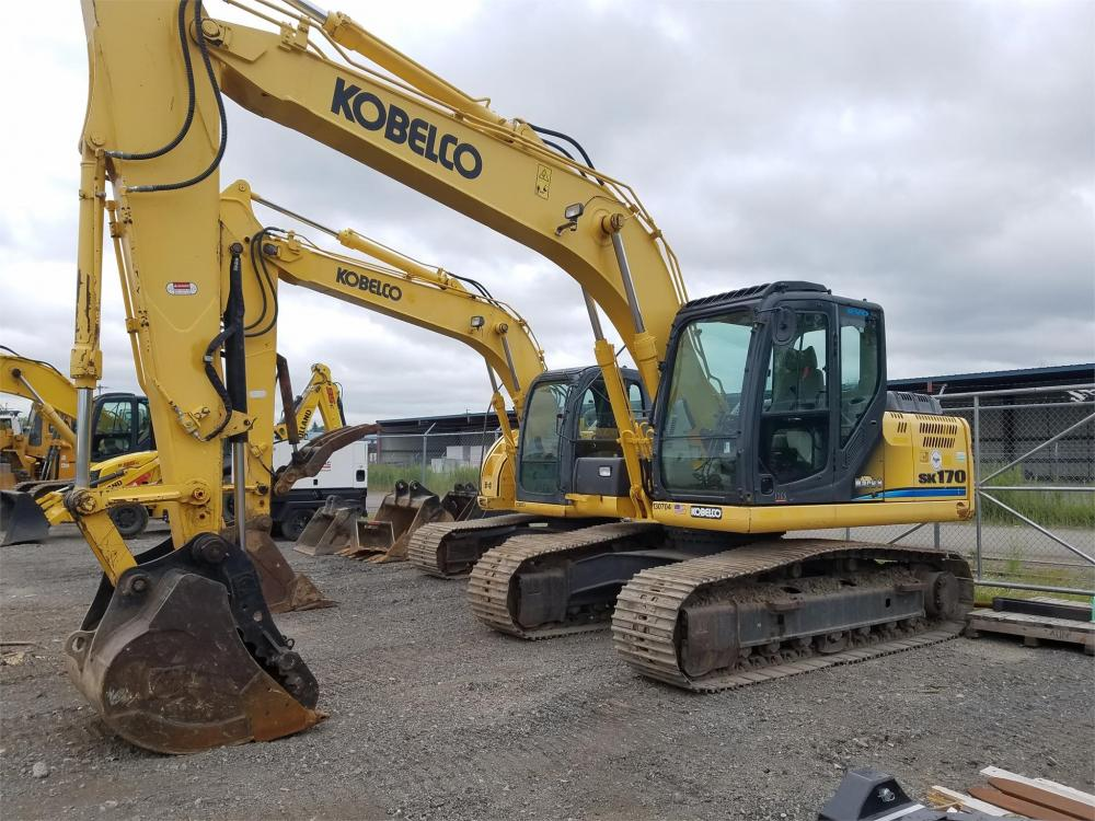 Detail photo of 2013 Kobelco SK170LC-9 from Construction Equipment Guide