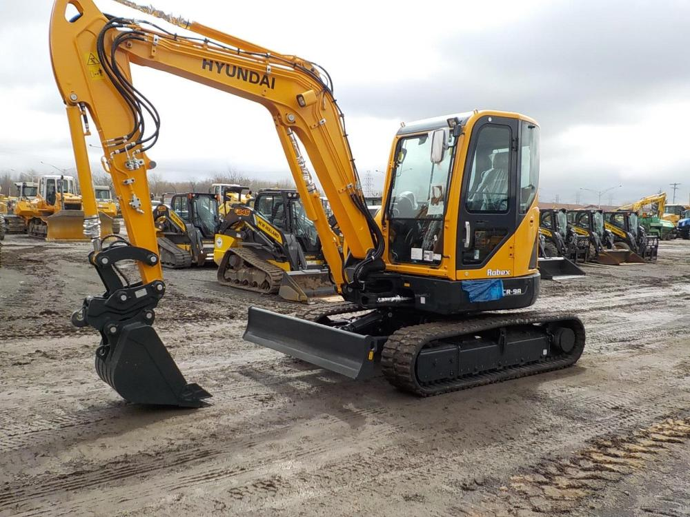 Detail photo of 2019 Hyundai ROBEX 60CR-9A from Construction Equipment Guide
