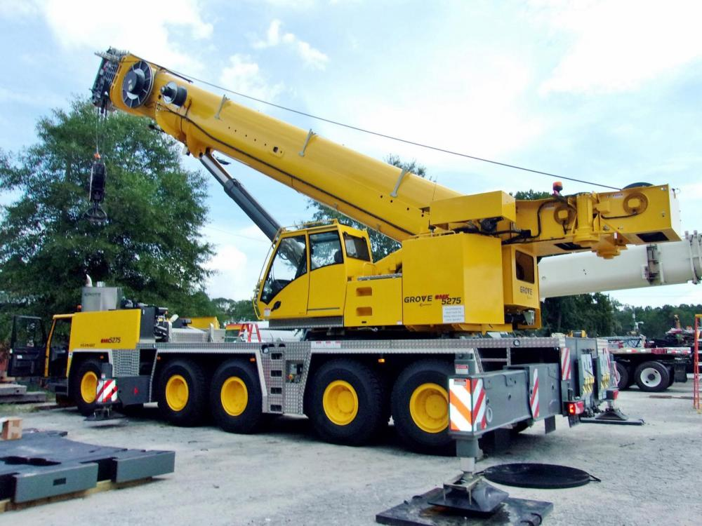 Detail photo of 2015 Grove GMK5275 from Construction Equipment Guide