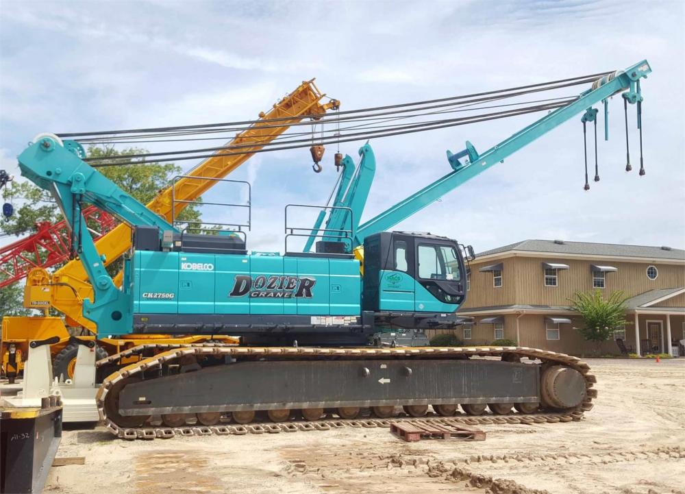 Detail photo of 2013 Kobelco CK2750G from Construction Equipment Guide