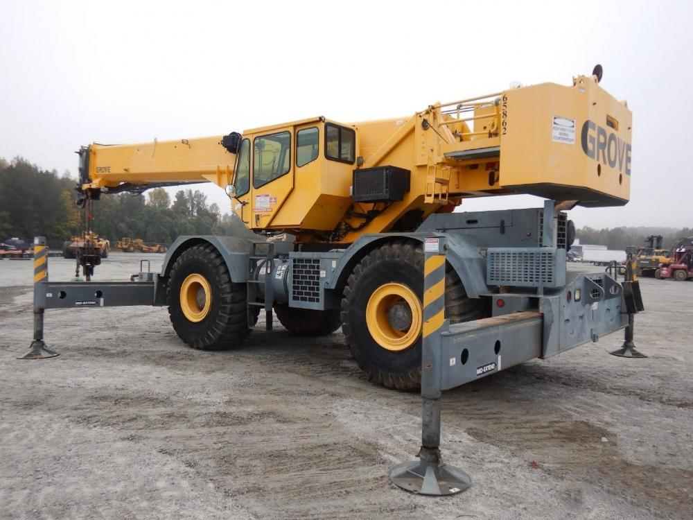 Detail photo of 2008 Grove RT760E from Construction Equipment Guide