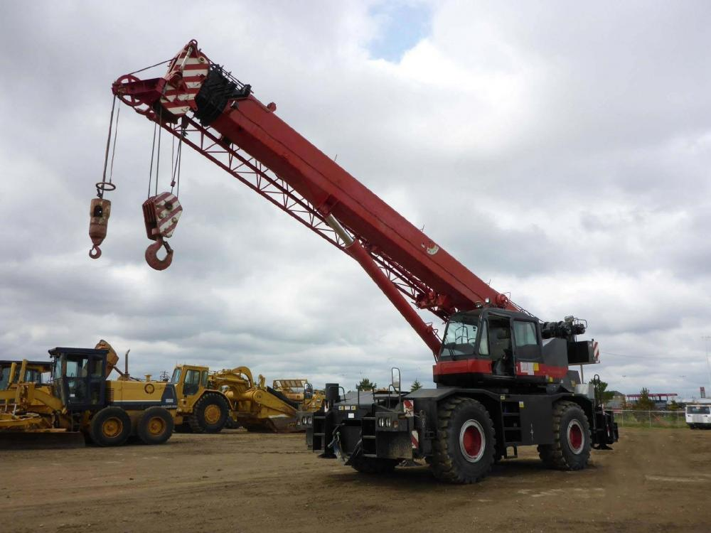 Detail photo of 2008 Tadano GR500XL from Construction Equipment Guide
