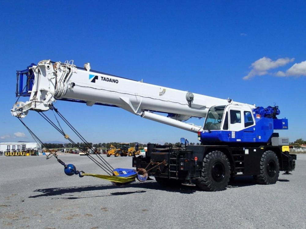 Detail photo of 2019 Tadano GR-550XL from Construction Equipment Guide