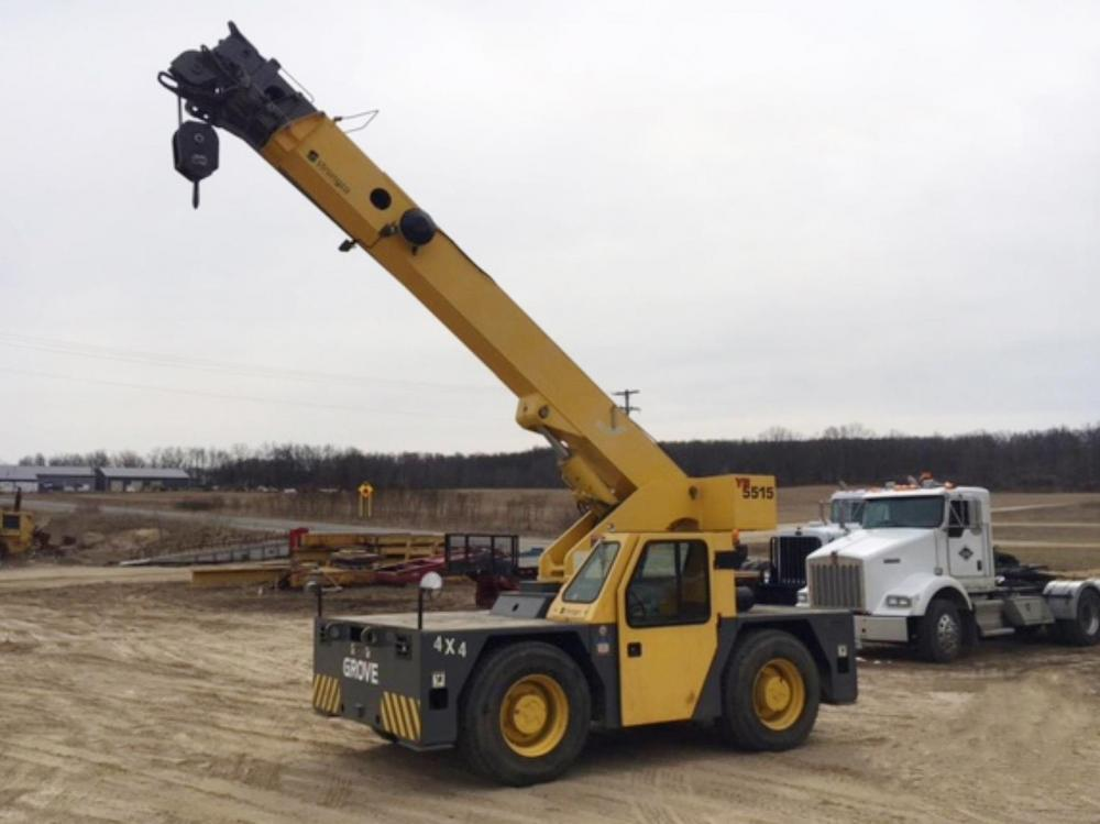 Detail photo of 2006 Grove YB5515 from Construction Equipment Guide