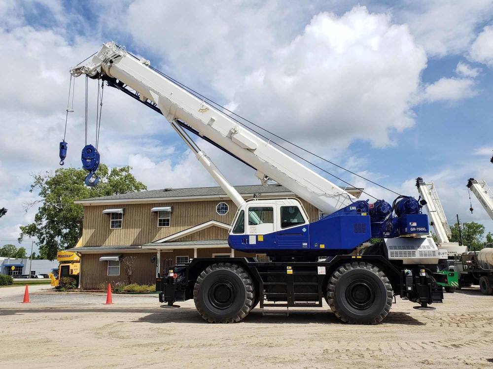 Detail photo of 2015 Tadano GR-750XL-2 from Construction Equipment Guide