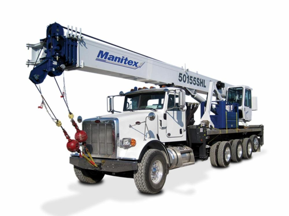 Detail photo of 2019 Manitex 50155SHL from Construction Equipment Guide