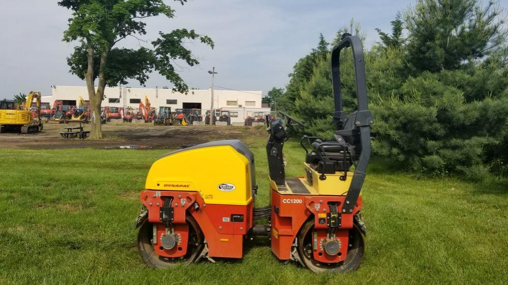 Detail photo of  Dynapac CC1200 from Construction Equipment Guide