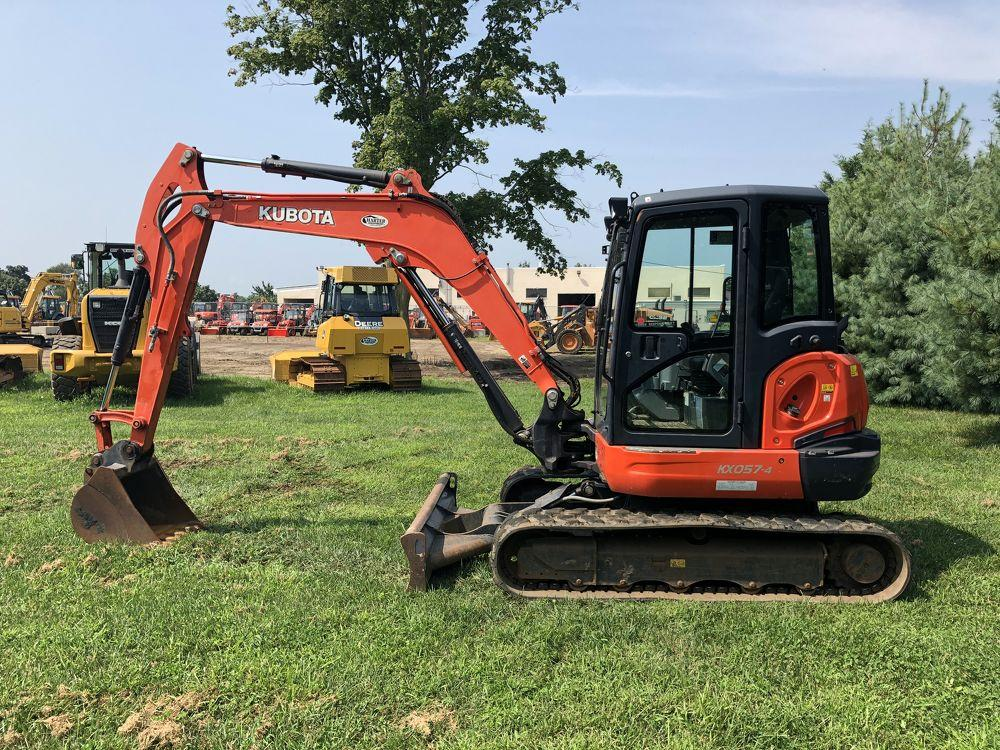 Detail photo of  Kubota KX057-4R3 from Construction Equipment Guide