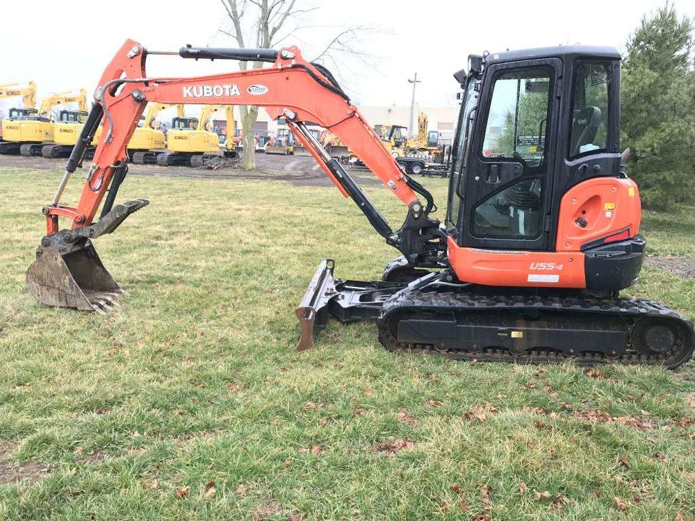 Detail photo of  Kubota U55-4R3A from Construction Equipment Guide