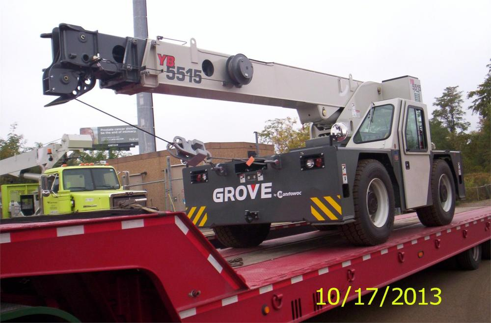 Detail photo of 2013 Grove YB5515 from Construction Equipment Guide