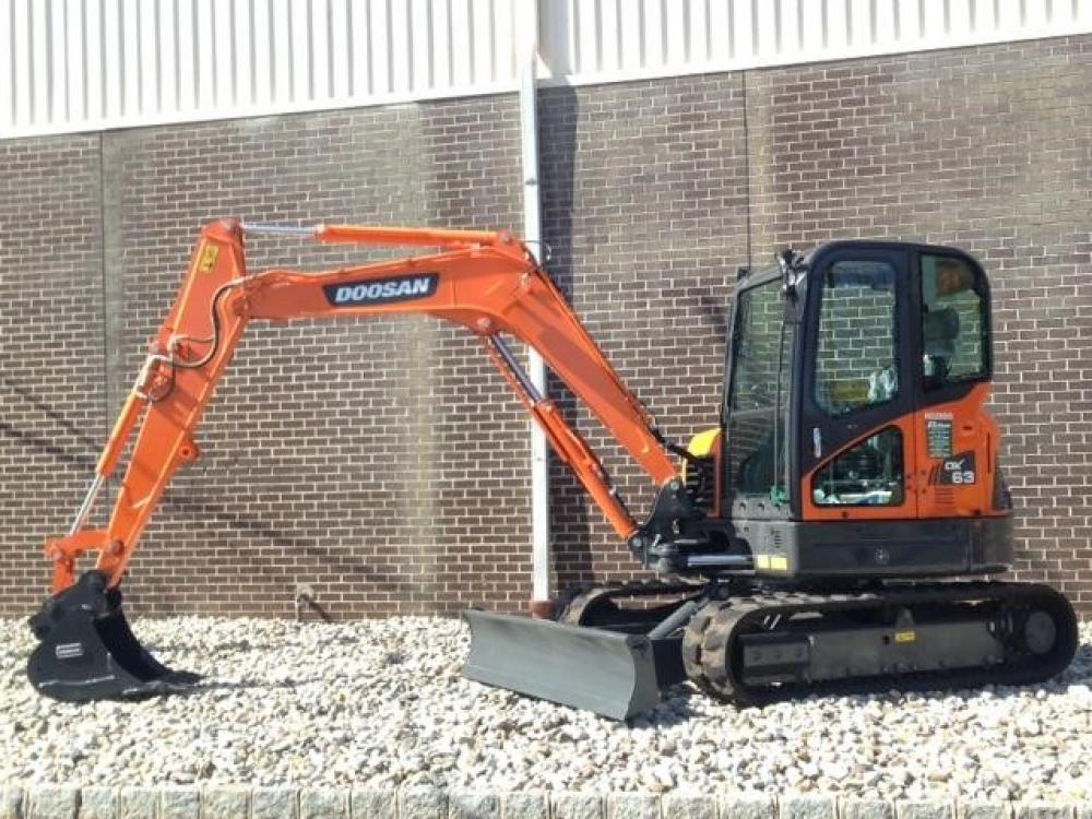 Detail photo of 2014 Doosan DX63-3 from Construction Equipment Guide