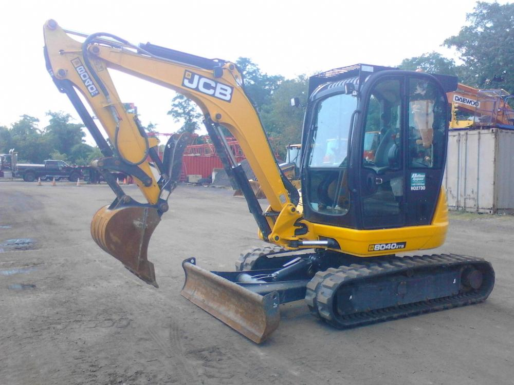 Detail photo of 2015 JCB 8040ZTS from Construction Equipment Guide