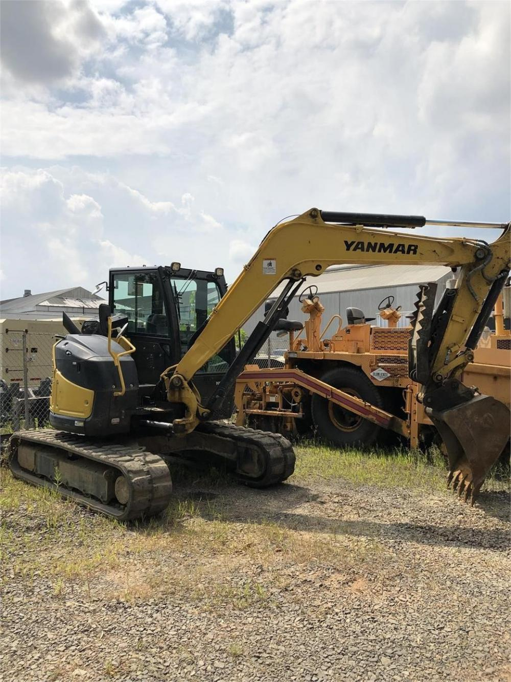 Detail photo of 2017 Yanmar VIO80-1A from Construction Equipment Guide