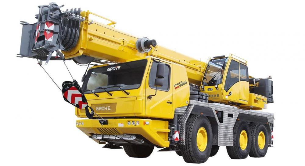 Detail photo of 2019 Grove GMK3060 from Construction Equipment Guide