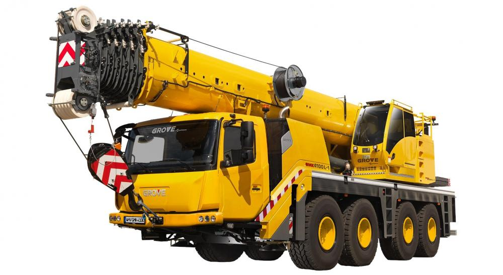 Detail photo of 2020 Grove GMK4100L-1 from Construction Equipment Guide