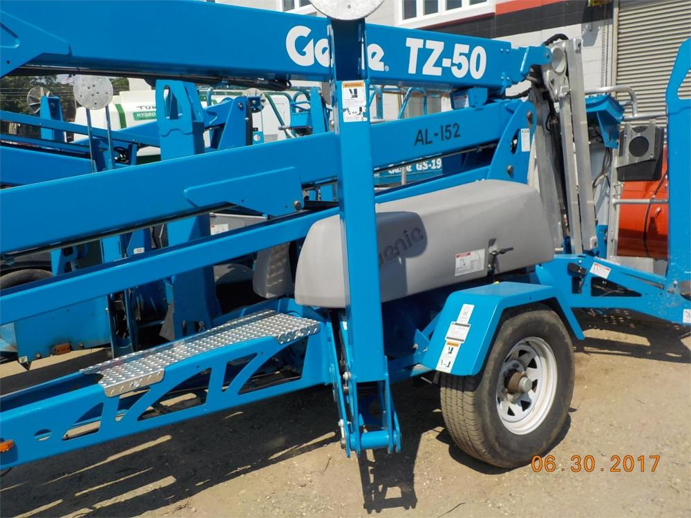 Detail photo of  Genie TMZ-50 from Construction Equipment Guide