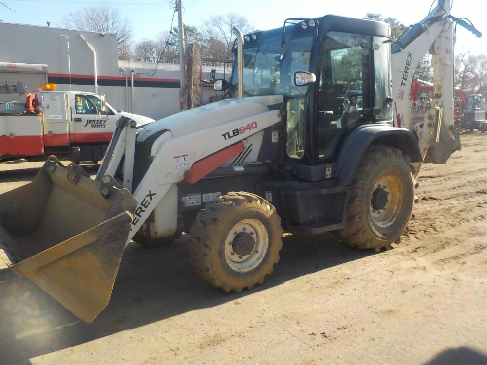 Detail photo of 2014 Terex TLB 840 from Construction Equipment Guide