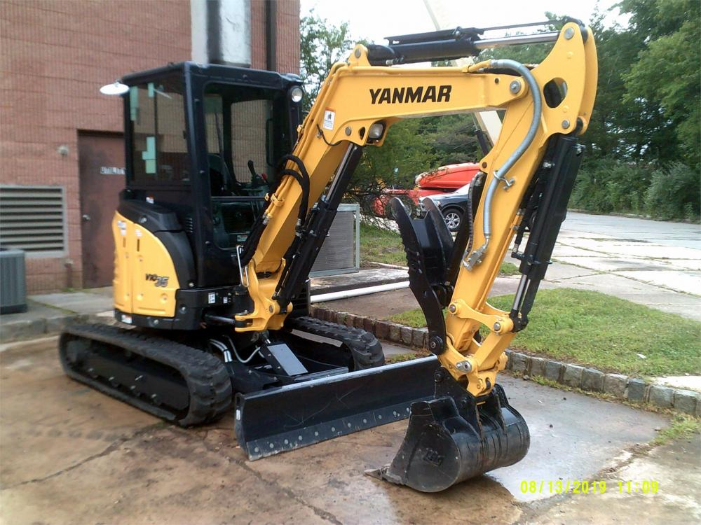 Detail photo of 2019 Yanmar VIO35 from Construction Equipment Guide
