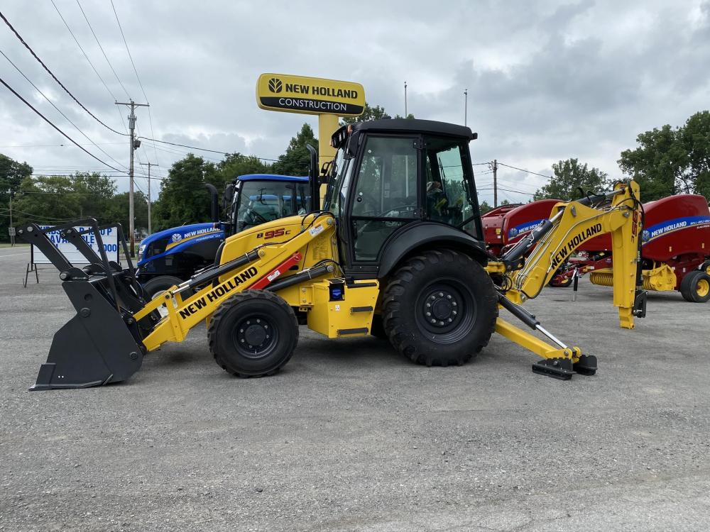 Detail photo of  New Holland B95C from Construction Equipment Guide