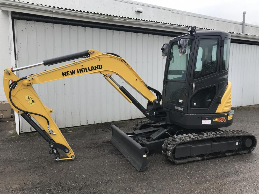 Detail photo of  New Holland E37C from Construction Equipment Guide