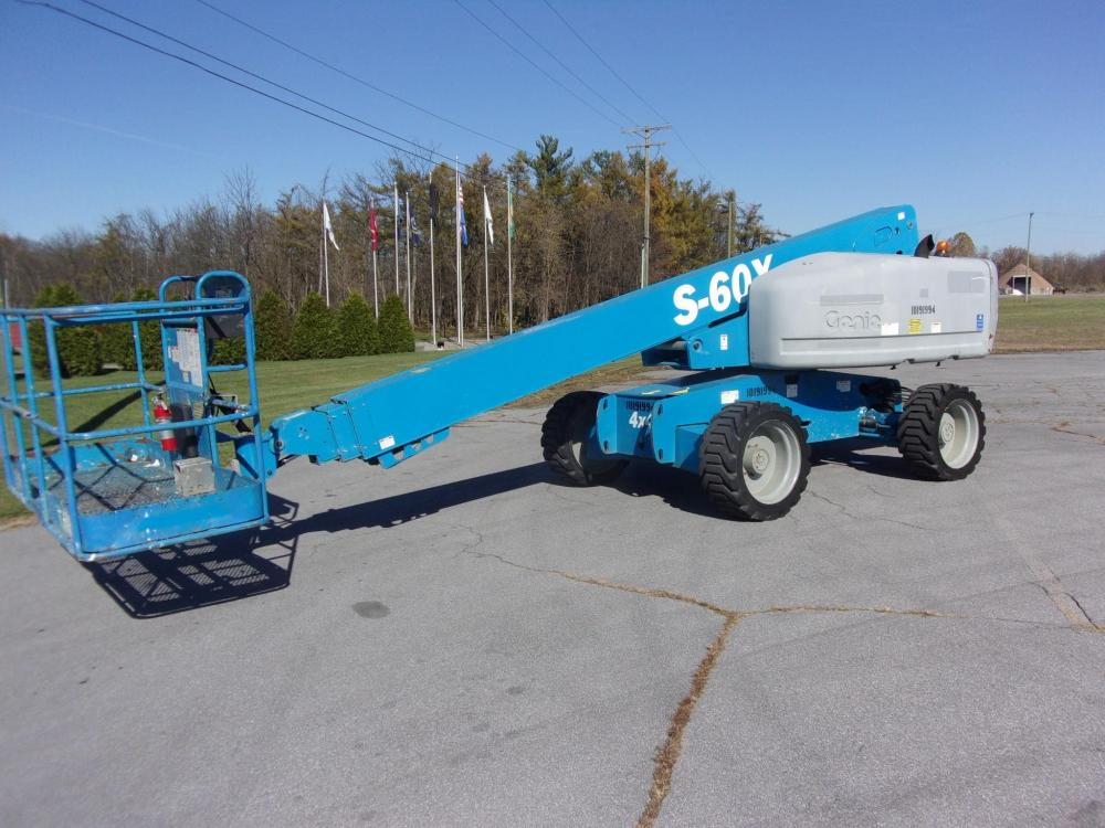Detail photo of 2013 Genie S-60X from Construction Equipment Guide