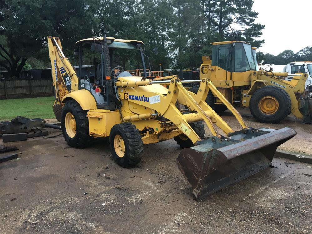 Detail photo of 2005 Komatsu WB140 from Construction Equipment Guide