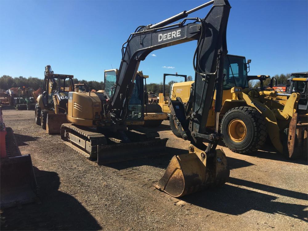 Detail photo of 2016 John Deere 85G from Construction Equipment Guide